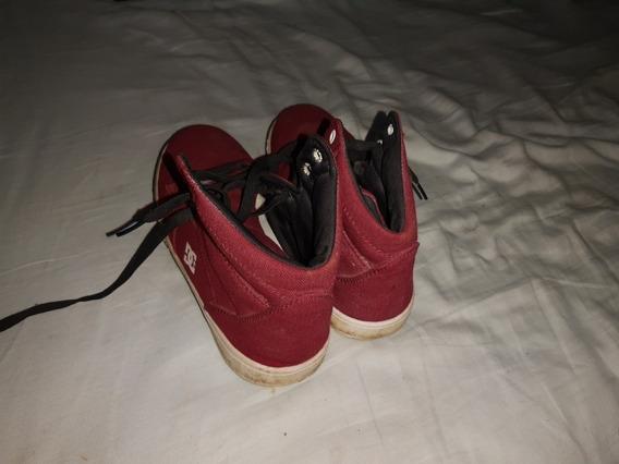 Tênis Cano Alto Dc Shoes Tamanh O 38