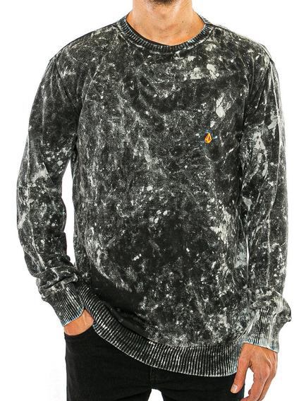 Sweater Tye Dye Stone Volcom Fluid Tienda Oficial