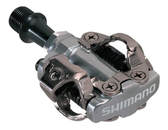 Pedales Shimano Bicicleta Mtb Pd-m540 Spd Calas Chocles Ruta