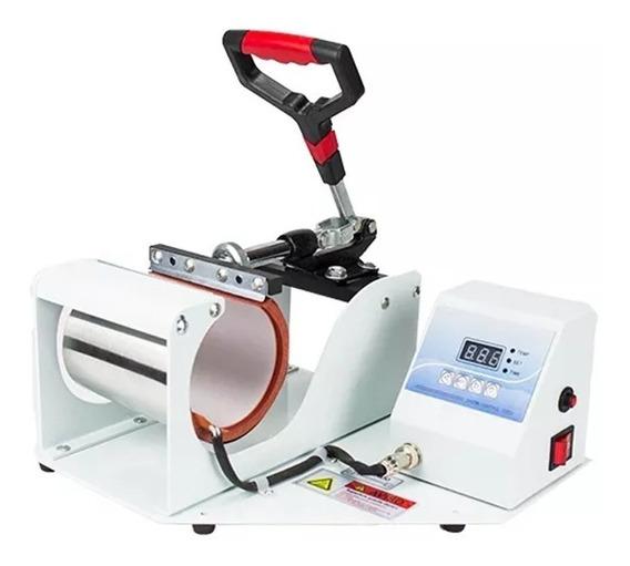 Prensa Térmica Sublimação Máquina De Estampar Canecas Copos