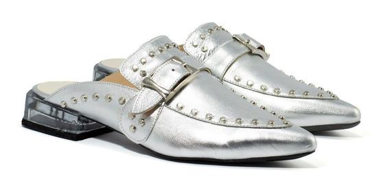 Zapatos Mujer Zuecos Gravagna Charritos Cuero Vacuno Charol