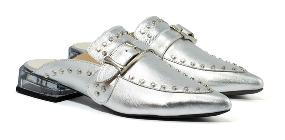 Zapatos Mujer Gravagna Zuecos Texanos Charritos Cuero Vacuno