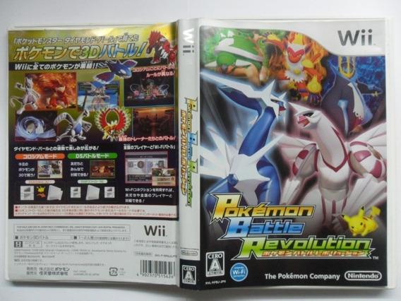 Frete Grátis Pokemon Battle Revolution Jpn