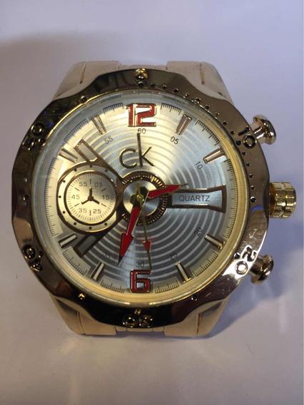 Relógio Calvin Klein Masculino Aço Top Design