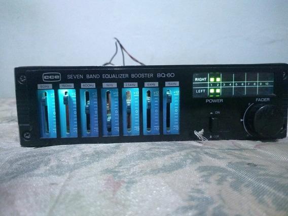 Amplificador E Equalizador Cce Bq - 60anos 80 Funcionando