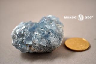 Piedra Drusa Celestina Nro. 3