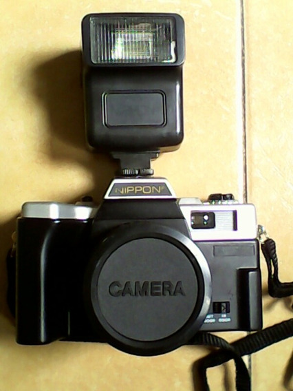 Camara Fotográfica Nippon Original De Royo Con Su Flasch