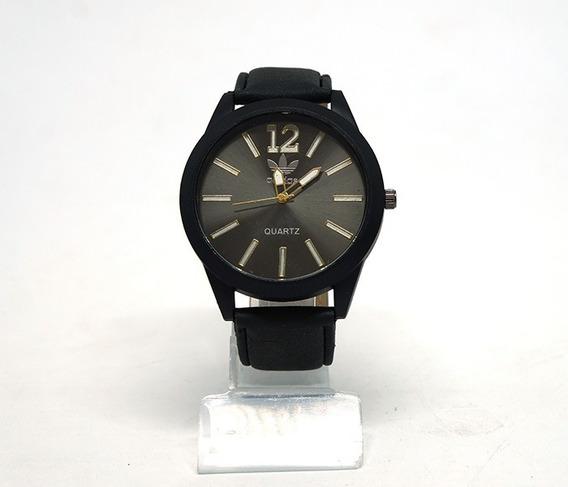 Relógio adidas Com Pulseira De Couro Promoção!!!