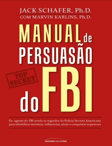 Livro - Manual De Persuasão Do Fbi