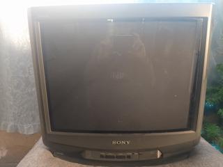 Tv Sony Trinitron 21 P. De Uso (atención Leer Descripción)