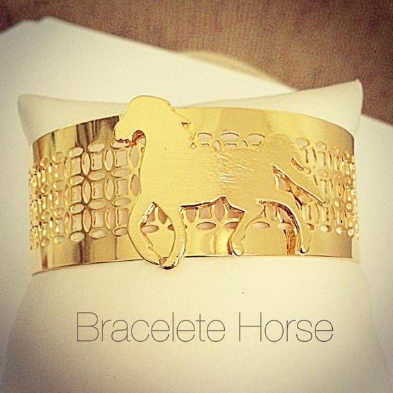Bracelete Mais Que Luxo Banhado A Ouro