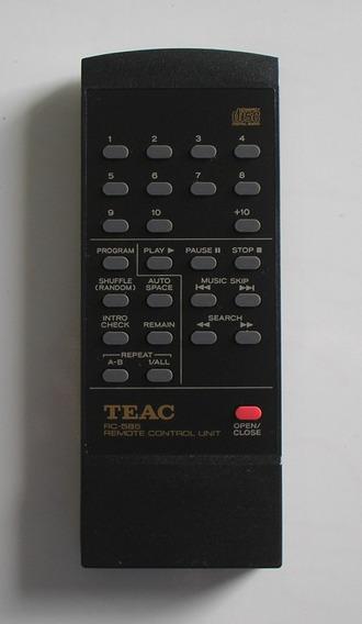 Controle Remoto Original Teac Rc- 585 Estado De Novo+brinde