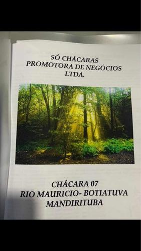 Imagem 1 de 1 de Chácara Na Região De Mandirituba Pr Com Nascente Dágua.