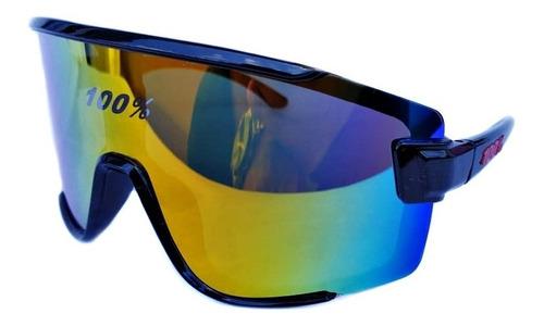 Gafas De Ciclismo 100% Polarizado Ruta Mtb Uv400 Estuche