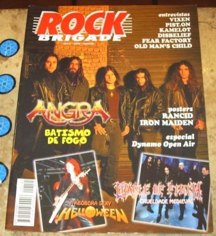 Rock Brigade N 145 Angra Poster Rancid Iron 1998