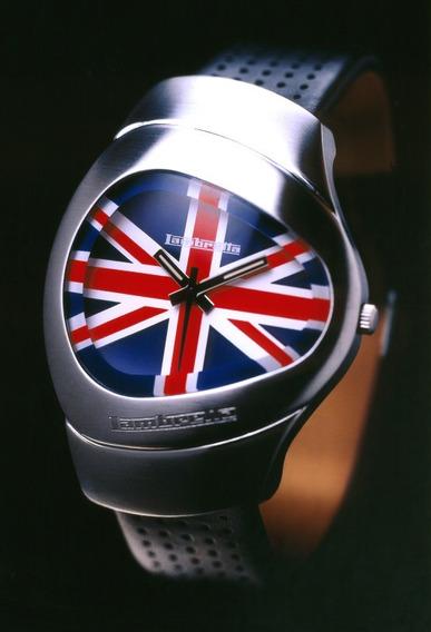 Relogio De Pulso Lambretta Milio-visor Bandeira Inglaterra