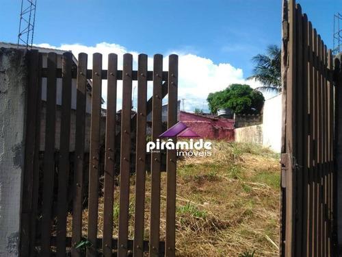 Terreno S E N S A C I O N A L, Totalmente Murado, 250 M² Por R$ 230.000, Praia Das Palmeiras, Caraguatatuba/sp - Te0938