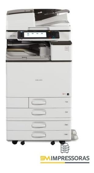 Impressora Multifuncional Ricoh Mpc 4503 Colorida - Revisada