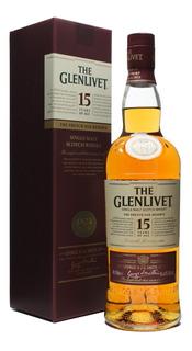 Whisky The Glenlivet 15 Años Single Malt 700ml. Avellaneda.