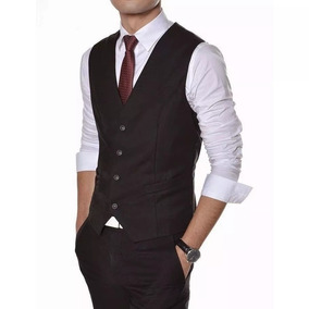 Colete Social Masculino + Camisa + Calça + 3 Gravatas