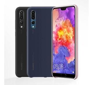 Funda Silicon Case Huawei P20 100% Original Promocion Rigido