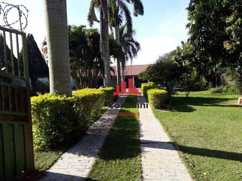 Chácara Com 3 Dormitórios À Venda, 1250 M² Por R$ 750.000 - Jardim Da Balsa I - Americana/sp - Ch0102