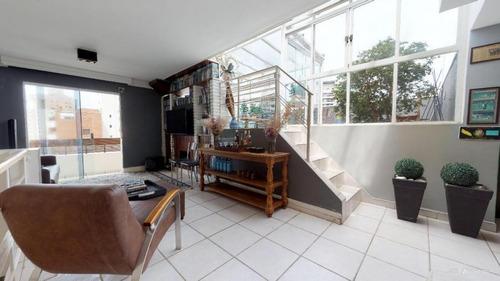 Cobertura Para Venda Em São Paulo, Vila Olímpia, 2 Dormitórios, 1 Suíte, 2 Banheiros, 2 Vagas - Agx099v11_1-1341921