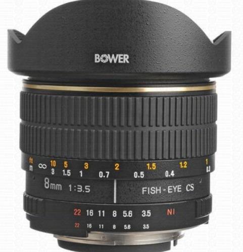 Bower Sly 358n  Lente Olho De Peixe 8mm F/3.5 P/nikon Aps-c
