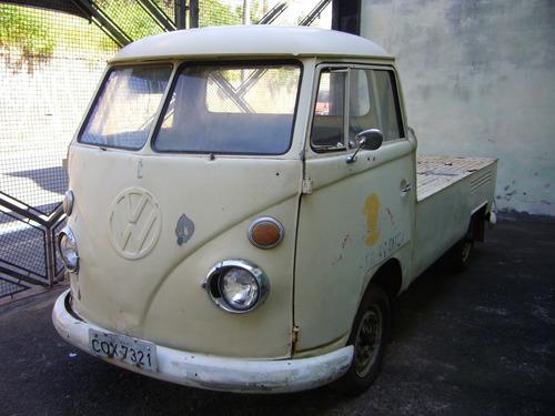 Pick Up Kombi 1974 Corujinha