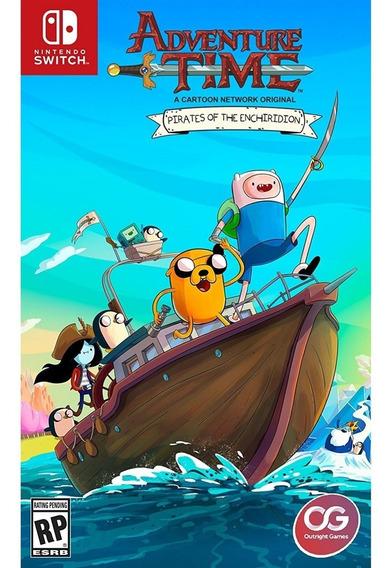 Adventure Time Pirates Of The Enchiridion Switch Mídia Físic
