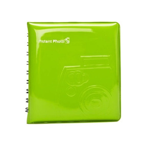 Álbum Fujifilm Instax Mini Verde- Albuminstax-verde