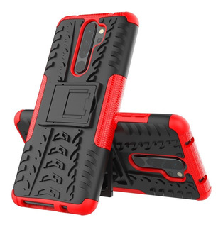Capa Anti Queda Suporte Redmi Note 8 Pro+pelicula 3d
