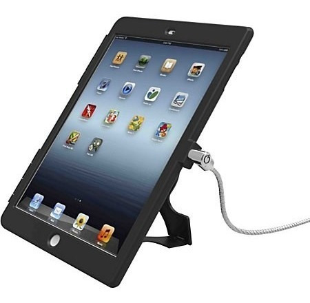 Capa Com Trava Para iPad 2/3/4 Maclocks Black