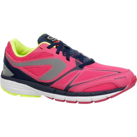 Tenis De Atletismo Para Niña Talla 22 Rosa/verde 8351509 2