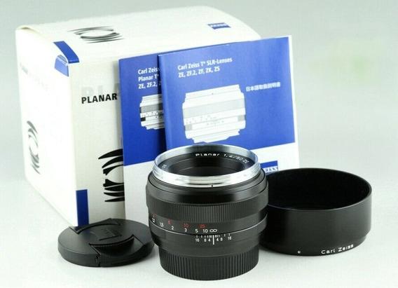 Lente Carl Zeiss Planar T * 50mm F / 1.4 Ze Para Canon