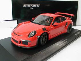 Miniatura Porsche 911 Gt3 Rs Orange Minichamps 1/18