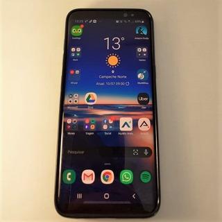 Smartphone Samsung Galaxy S8 - 64gb + Capinha