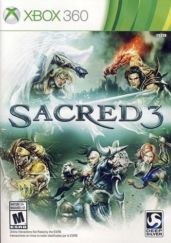 Sacred 3 - Xbox 360 Fisico Nuevo Sellado