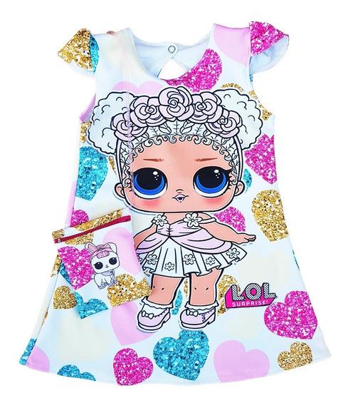 Vestido Lol Surprise. Flower Child Con Carterita De Regalo