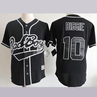 Camiseta Casaca Baseball Bad Boy Records Biggie Importada