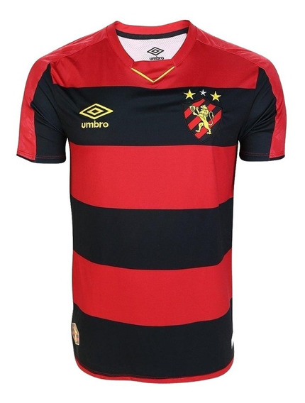 Camisa Do Sport Recife 2019 Leão Nordeste Oficial - Desconto