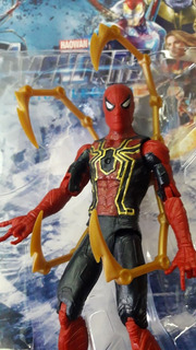 Iron Spider Avengers Infinity War End Game 15cm Artic Luz
