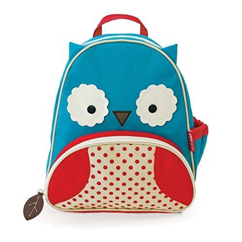 Skip Hop Zoo Toddler Kids Mochila Con Aislamiento Otis Owl 1