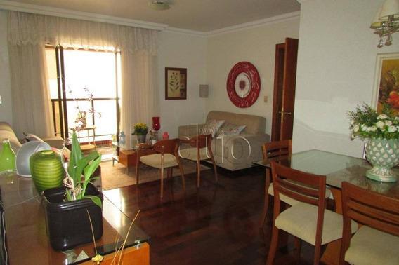 Apartamento Com 3 Dormitórios À Venda, 127 M² Por R$ 410.000 - Centro - Piracicaba/sp - Ap3405