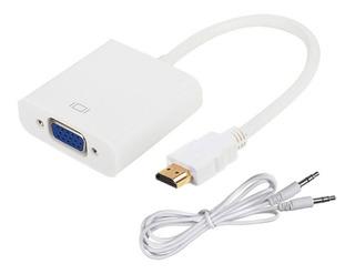 Cable Adaptador Hdmi A Vga Cable Incluido