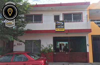 Casa En Venta Calle Independencia 524, Colonia Fatima, Colima, Colima