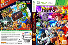 Jogo Game Dragon Ball Z Battle Of Z Xbox 360 Física Lacrado