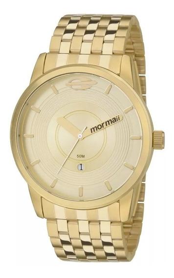 Relógio Mormaii Masculino On The Road Dourado Mo2115ac4d
