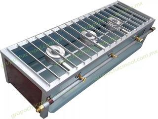 Estufa Industrial De Mesa Con Quemadores De Aluminio P461