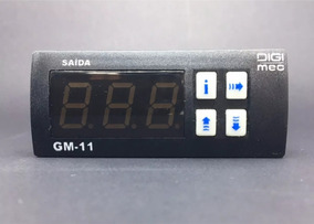 Controlador De Temperatura Digital Digimec Gm-11-01 Para Ntc